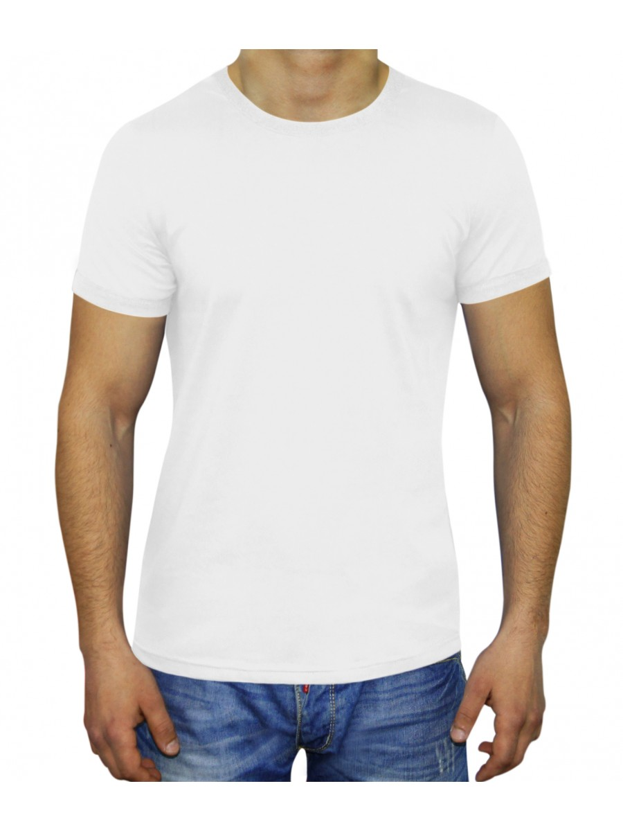 MAN SLIM FIT T-SHIRT WHITE