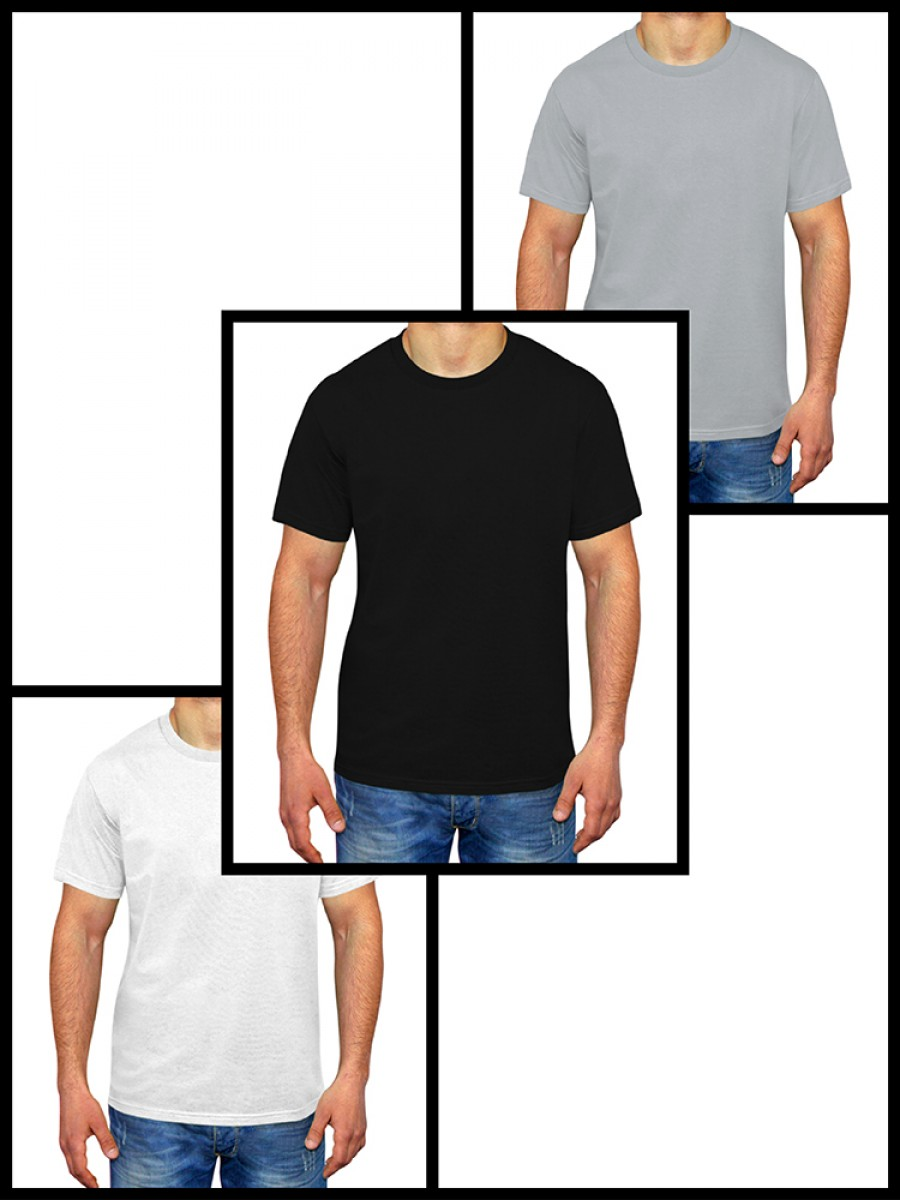 MAN MULTI PACK | 3 men's classic t-shirts