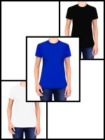 WOMAN MULTI PACK | 3 women's classic t-shirts